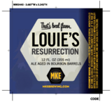 Milwaukee Louie's Resurrection beer
