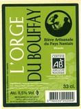 L'Orge du Bouffay beer