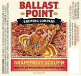 Ballast Point Grapefruit Sculpin Beer