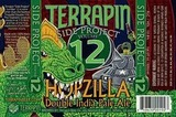 Terrapin Side Project Hopzilla Double IPA beer