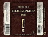 Backpocket Exaggerator beer