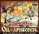 Jackie O's Rum Barrel Oil of Aphrodite beer