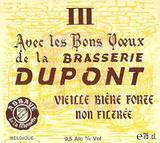 Dupont Avec Les Bons Voeux Saison 2014 beer