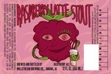 Millstream Raspberry Latte Stout Beer