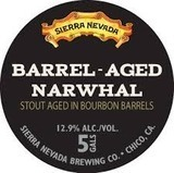 Sierra Nevada Bourbon Barrel Aged Narwhal beer