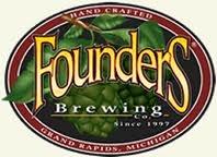 Founders Backwoods Bastard 2014 beer Label Full Size