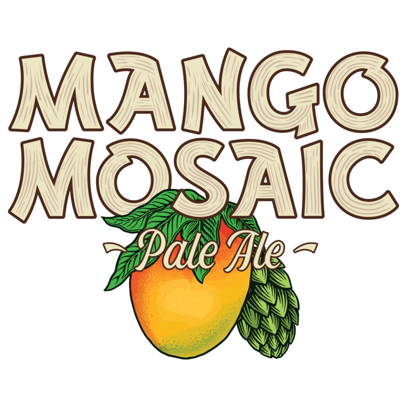 Breckenridge Mango Mosaic beer Label Full Size