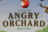Angry Orchard Hop'n Mad Apple beer