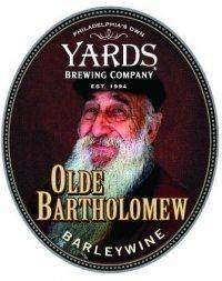 Yards Old Bartholomew beer Label Full Size