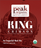Peak Organic King Crimson Beer