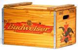 Budweiser Wood Crate Beer