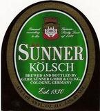 Sunner Kolsch Beer