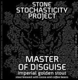 Stone Stochasticity Project Master Of Disguise beer