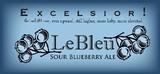 Ithaca LeBleu beer