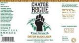 Rogue Chatoe Dirtoir Black Lager beer
