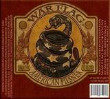 War Flag American Pilsner Beer