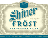 Shiner Frost beer