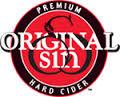 Original Sin Amber Cider beer Label Full Size
