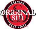 Original Sin Amber Cider beer