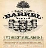 Hardywood Park Rye Whiskey Barrel Pumpkin beer