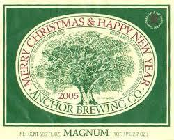 Anchor Christmas Ale 2014 beer Label Full Size