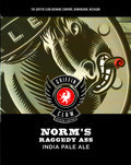 Griffin Claw Norms Raggedy Ass IPA beer Label Full Size