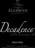 AleSmith Decadence 2014 Anniversary Ale beer