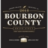 Goose Island Bourbon County Brand Stout 2014 beer Label Full Size