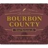 Goose Island Bourbon County Brand Barleywine 2014 beer Label Full Size