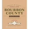 Goose Island Bourbon Vanilla Rye beer Label Full Size