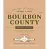 Goose Island Bourbon Vanilla Rye beer