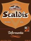 Scaldis Refermentee beer
