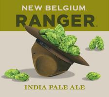 New Belgium Ranger IPA beer Label Full Size