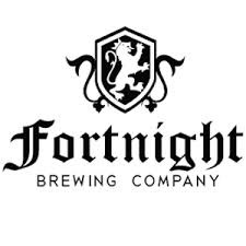 Fortnight Coffee Amber beer Label Full Size