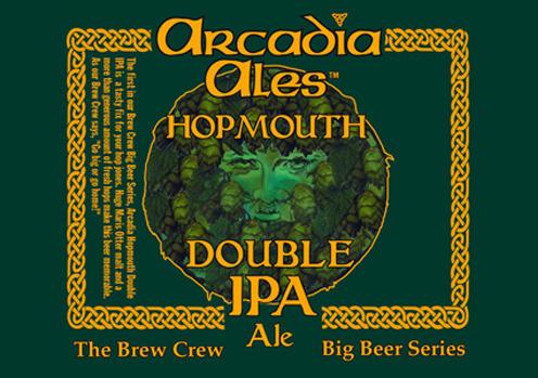 Arcadia HopMouth beer Label Full Size