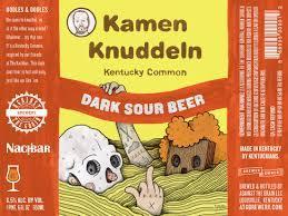 Against The Grain Kamen Knuddeln beer Label Full Size