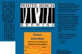 White Birch Blueberry Berliner Weisse beer