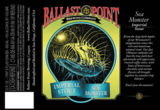 Ballast Point Sea Monster Imperial Stout beer