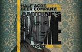 Half Acre Baume beer