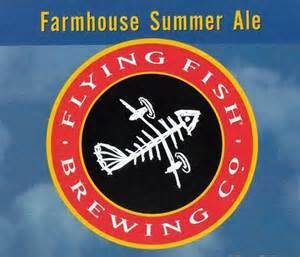 Flying Fish Farmhouse Ale beer Label Full Size