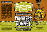 Neshaminy Creek Bourbon Barrel Aged Punkless Dunkel Beer
