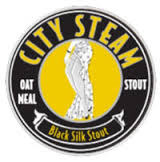City Steam Black Silk Stout beer Label Full Size