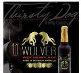 Thirsty Dog Wulver Wee Heavy Scotch Ale Beer