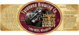 Tyranena Down 'N Dirty Chocolate Oatmeal Stout beer