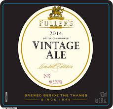 Fuller's Vintage Ale 2014 beer Label Full Size