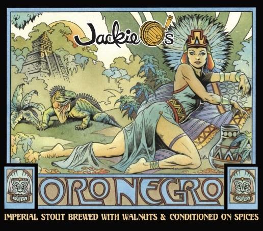 Jackie O's Oro Negro Beer