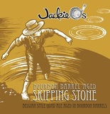 Jackie O's Bourbon Barrel Skipping Stone beer