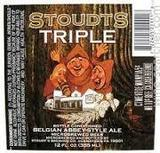 Stoudts Abbey Triple beer