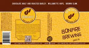 Bonfire Demshitz Brown Ale Beer