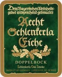 Aecht Schlenkerla Eiche beer Label Full Size